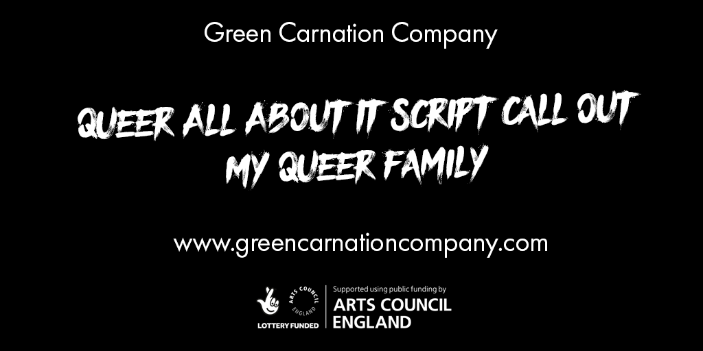 Queer All About It Script Call Out - My Queer Family